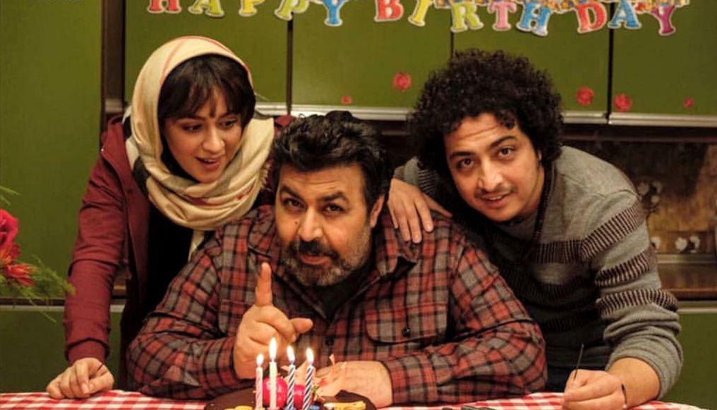 عرفان ابراهیمی در صحنه فیلم سینمایی کلمبوس به همراه فرهاد اصلانی و میترا رفیع