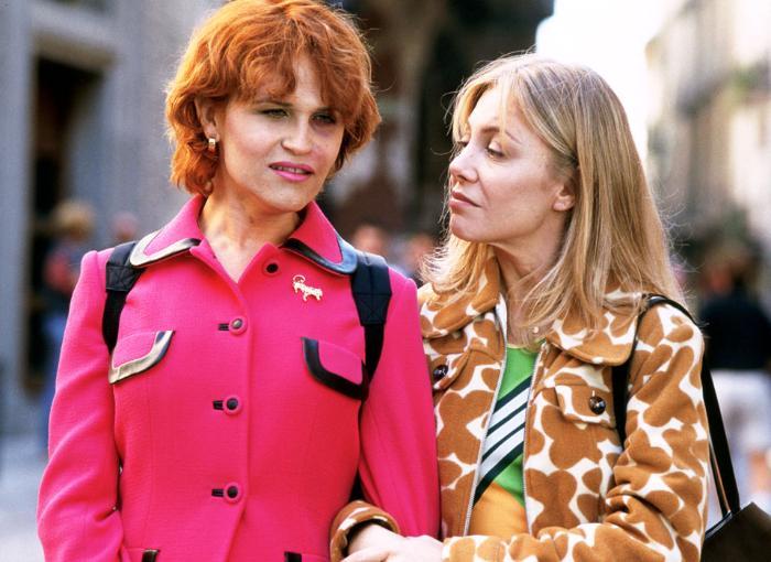 Antonia San Juan در صحنه فیلم سینمایی همه چیز درباره مادرم به همراه Cecilia Roth