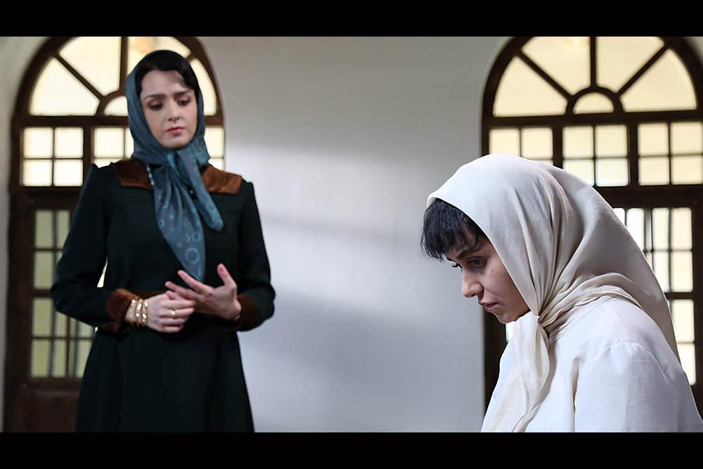 ترانه علیدوستی و پریناز ایزدیار در سریال شهرزاد 2
