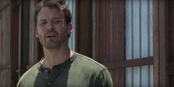 Austin Nichols در صحنه سریال تلویزیونی مردگان متحرک
