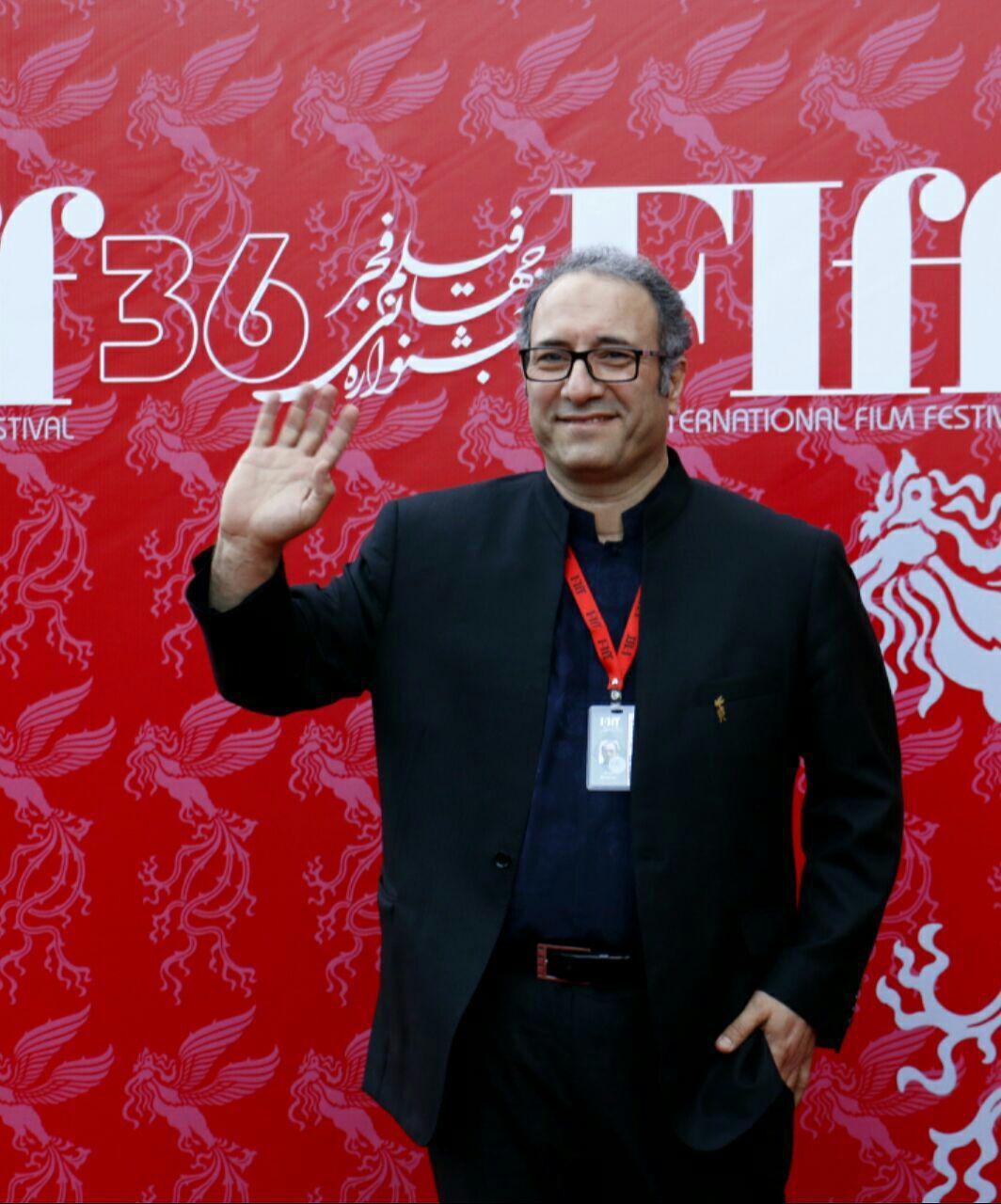 سیدرضا میر کریمی، کارگردان و تهیه کننده سینما و تلویزیون - عکس جشنواره