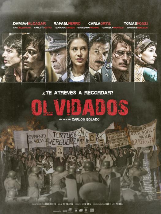 Carloto Cotta در صحنه فیلم سینمایی Forgotten به همراه Rafael Ferro، Tomás Fonzi، Carla Ortiz، Eduardo Paxeco، Manuela Martelli و Damián Alcázar