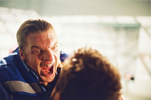 Paul Levesque در صحنه فیلم سینمایی تیغه: سه گانگی