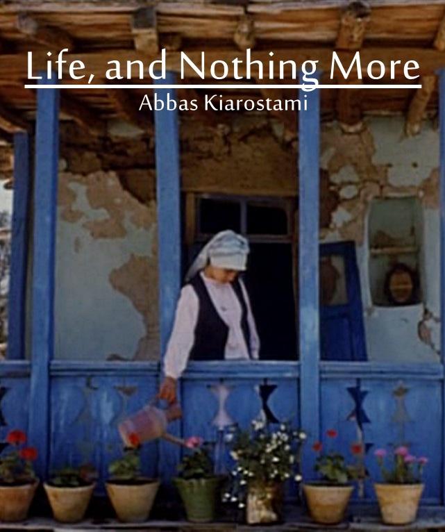 زندگی و دیگر هیچ