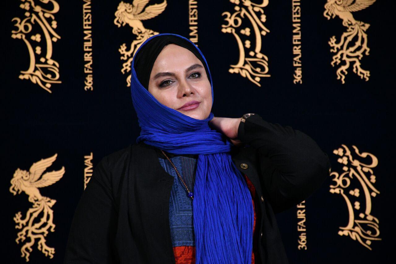 نرگس آبیار در جشنواره فیلم سینمایی مصادره