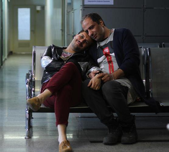 امیر جعفری و جواد عزتی در فیلم سینمایی اکسیدان