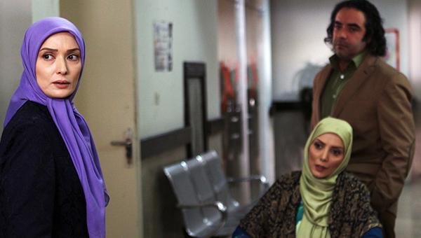 حسن معجونی و آتنه فقیه نصیری در سریال تلوزیونی شمعدونی