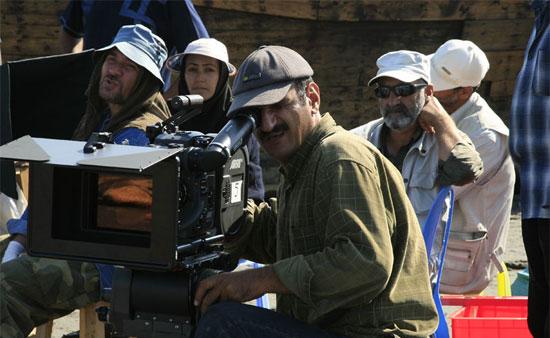 حمید خضوعی ابیانه در پشت صحنه فیلم سینمایی ملک سلیمان