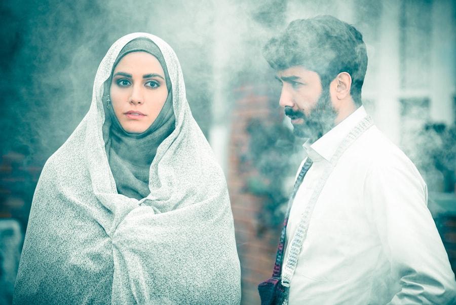 حسین مهری در صحنه سریال تلویزیونی حوالی پاییز