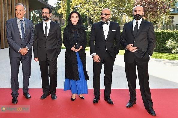 علی جلیلوند در تست گريم فیلم سینمایی چهارشنبه 19 اردیبهشت به همراه امیر آقایی، وحید جلیلوند و نیکی کریمی