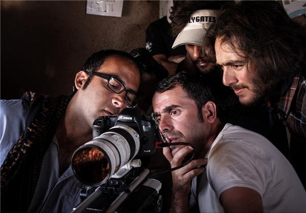 مجید اسماعیلی پارسا در پشت صحنه فیلم گمیچی