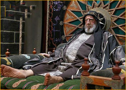 رضا کیانیان در سریال مختارنامه