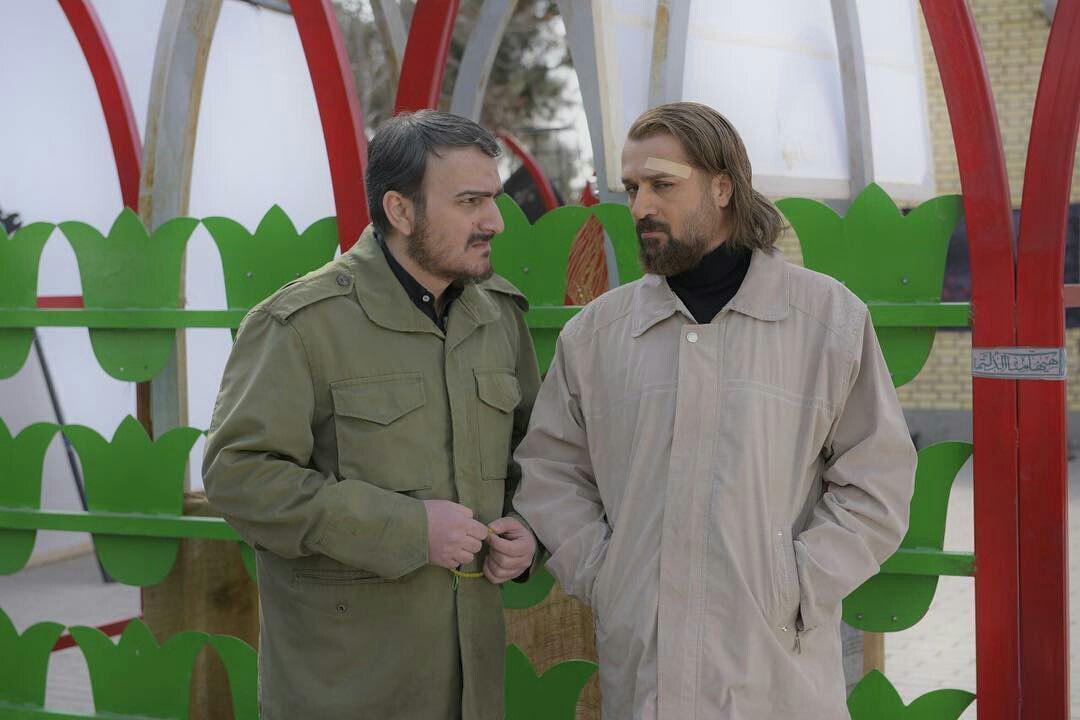 احمد مهرانفر و بیژن بنفشهخواه در فیلم سینمایی کاتیوشا
