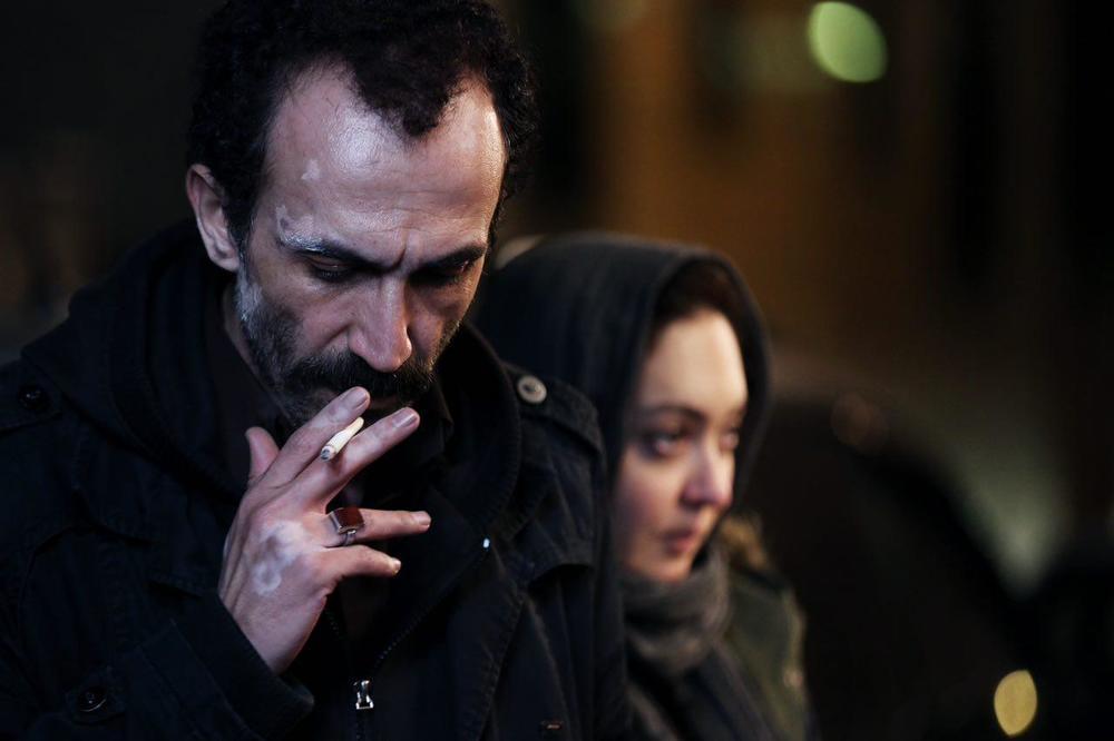 نیکی کریمی و هادی حجازیفر در فیلم سینمایی آستیگمات