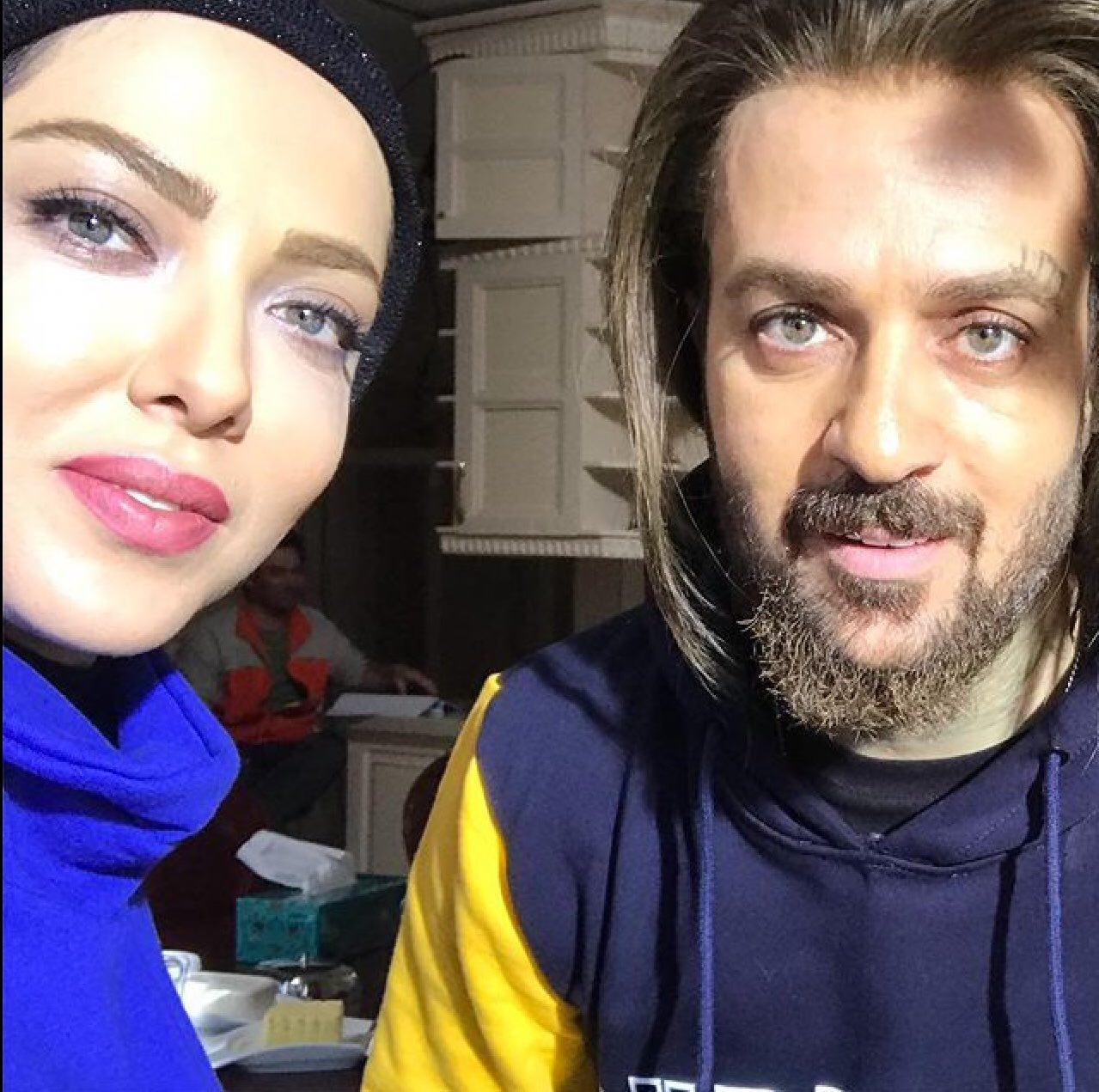 احمد مهرانفر و لیلا اوتادی در فیلم سینمایی کاتیوشا