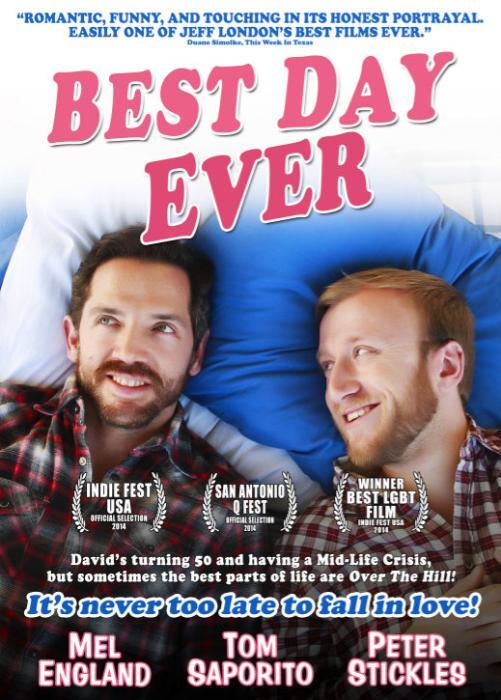 Peter Stickles در صحنه فیلم سینمایی Best Day Ever به همراه Mel England، Tom Saporito و Jeff London