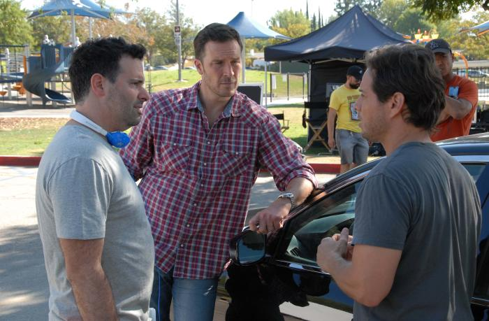 Brian Herzlinger در صحنه فیلم سینمایی Meet My Valentine به همراه Brady Smith و Scott Wolf