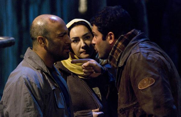 هانیه توسلی و محسن تنابنده در فیلم ندارها