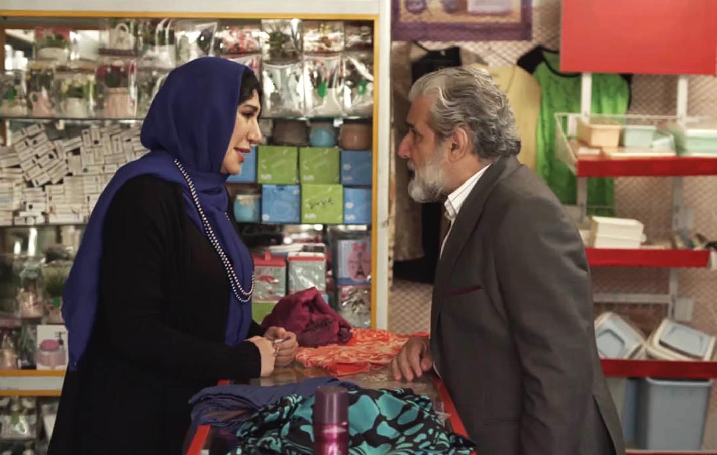 مهدی هاشمی و نسیم ادبی در سریال گلشیفته