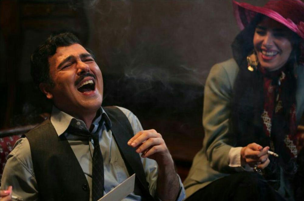 کوروش تهامی در فیلم آشوب