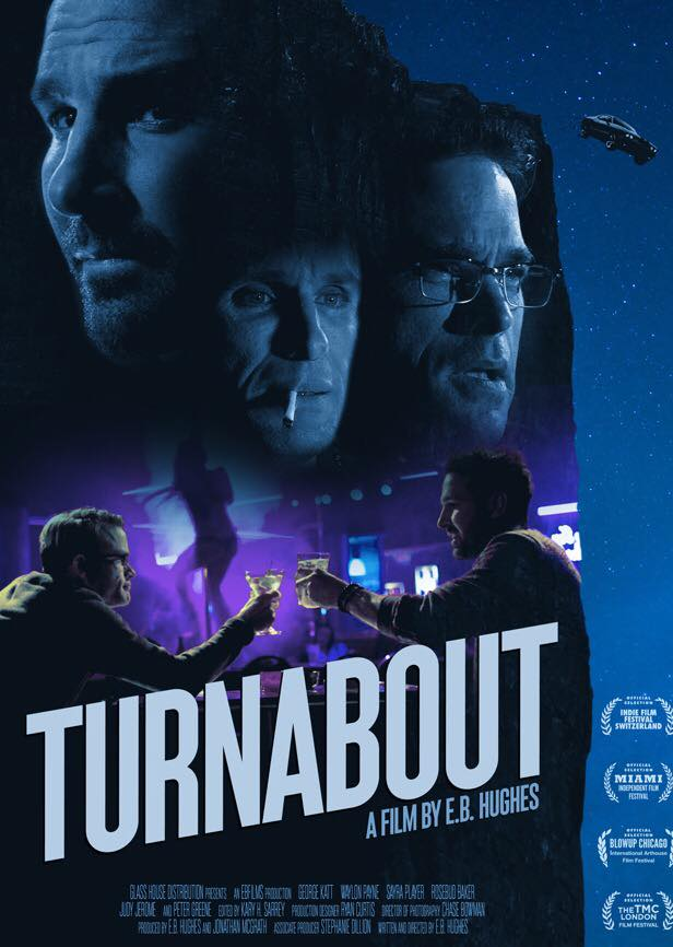 Peter Greene در صحنه فیلم سینمایی Turnabout به همراه Waylon Payne، Sayra Player، George Katt و Rosebud Baker