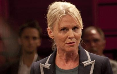 Jannie Faurschou در صحنه سریال تلویزیونی Borgen