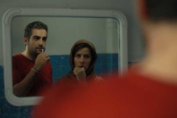 حامد کمیلی و سارا بهرامی در فیلم ایتالیا ایتالیا