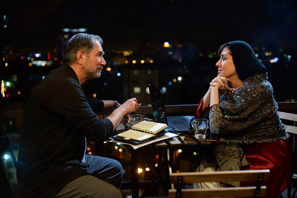 مهتاب کرامتی و آتیلا پسیانی در فیلم سینمایی جاده قدیم