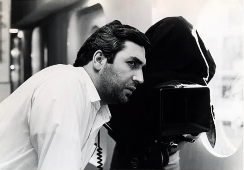 ابراهیم حاتمیکیا در پشت صحنه فیلم آژانس شیشهای