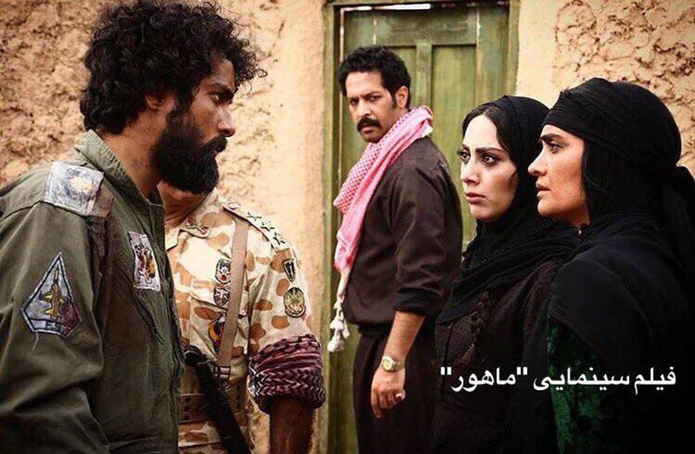 میترا حجار و ساعد سهیلی در فیلم سینمایی ماهورا
