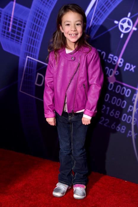 Aubrey Anderson-Emmons در صحنه فیلم سینمایی ابرقهرمان 6