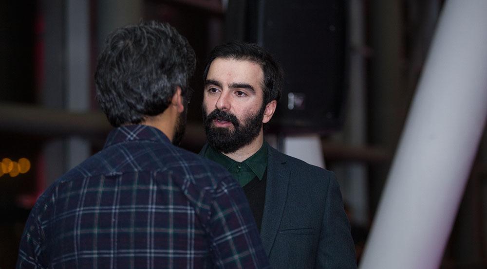 محسن قرایی در صحنه فیلم سینمایی سد معبر
