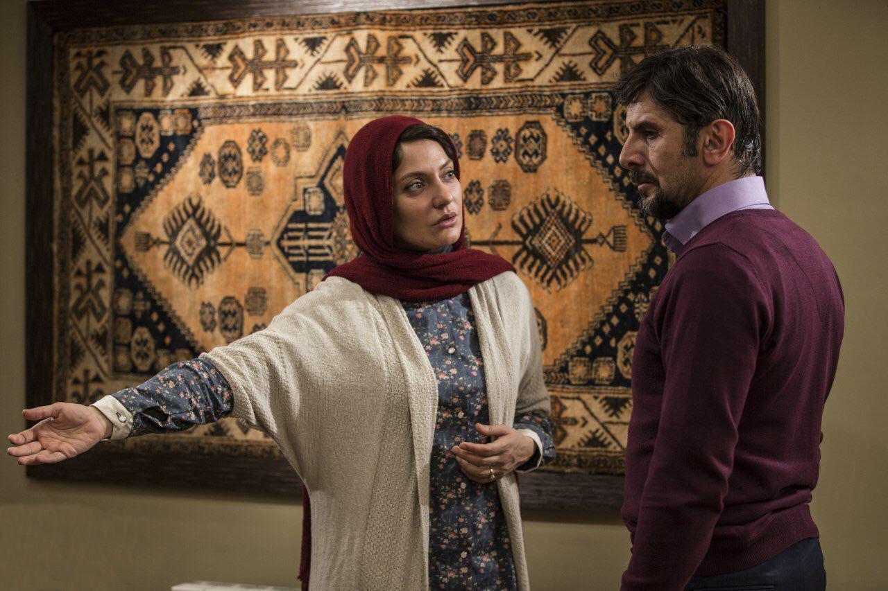 مهناز افشار و امین حیایی در فیلم سینمایی دارکوب