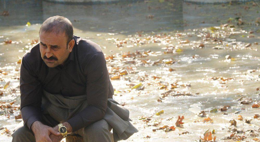 مهران احمدی در نمایی از فیلم ماحی