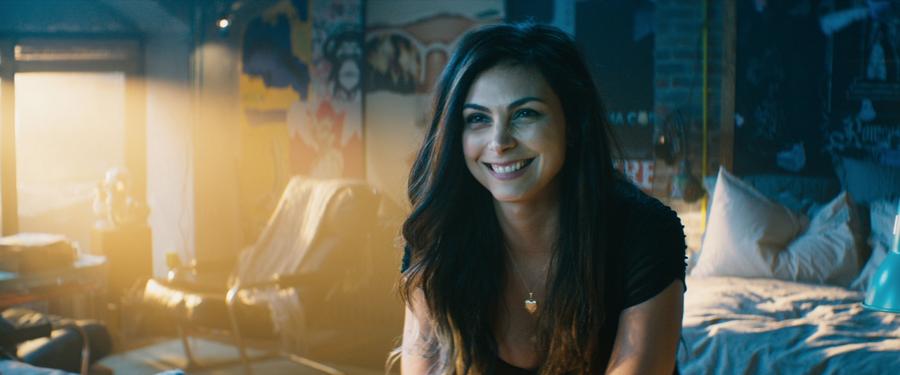 مورینا بکرین در صحنه فیلم سینمایی ددپول 2