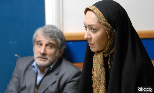 نیکی کریمی و مهدی هاشمی در فیلم تلفن همراه رئیس جمهور