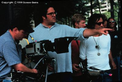 Mark Pellington در صحنه فیلم سینمایی جاده آرلینگتون