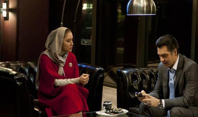 بهاره کیان افشار و کوروش تهامی در فیلم گناهکاران