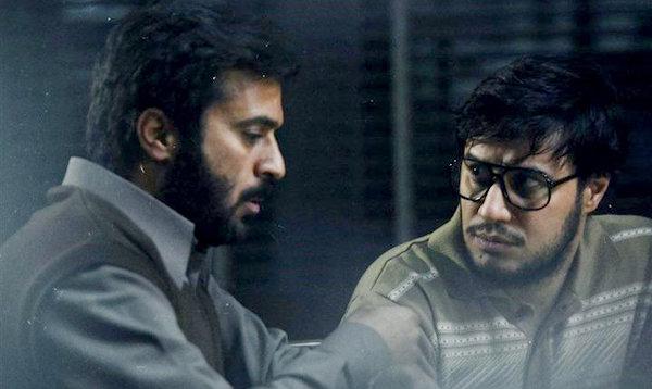 جواد عزتی و احمد مهرانفر در فیلم ماجرای نیمروز