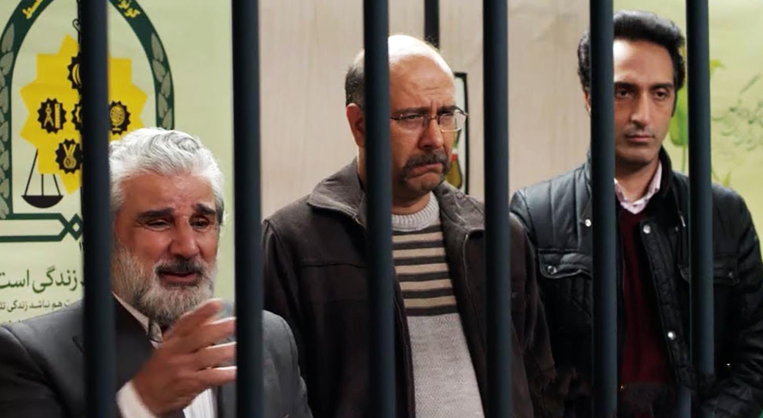 مهدی هاشمی و محمد بحرانی در سریال گلشیفته
