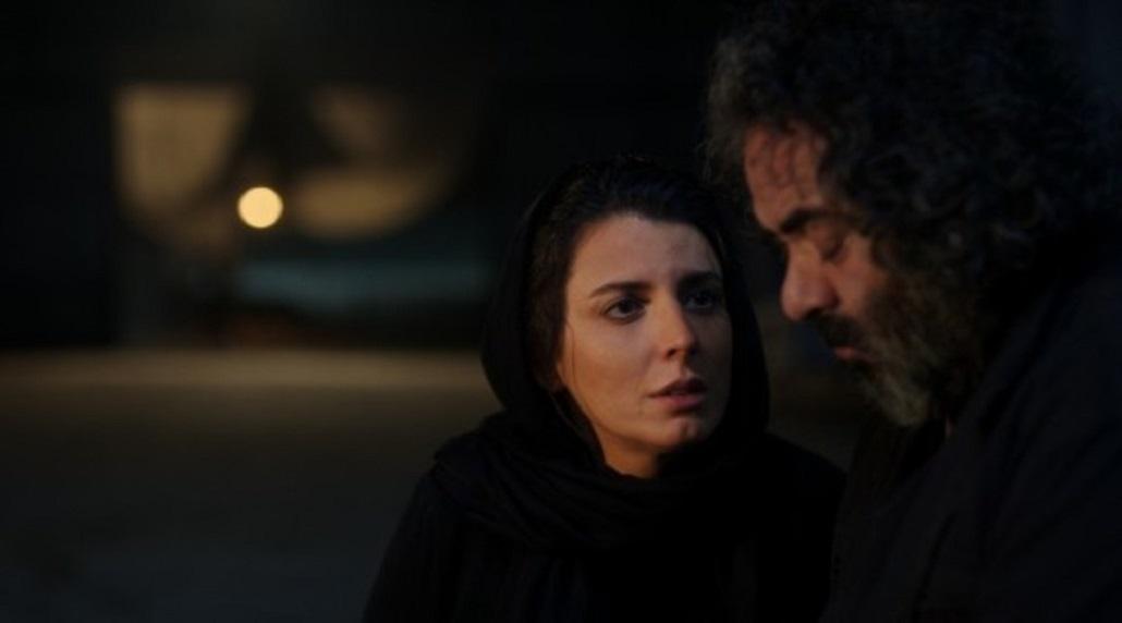 لیلا حاتمی و حسن معجونی در فیلم سینمایی خوک