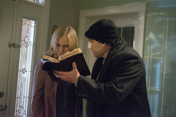 Laura Allen در صحنه فیلم سینمایی دلقک به همراه Andy Powers