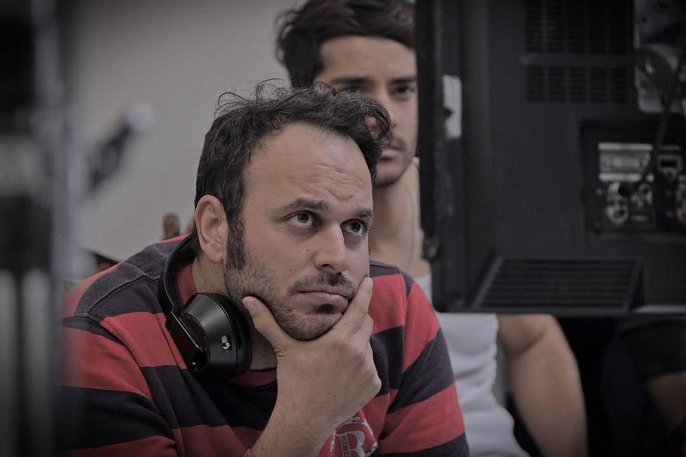 محمدحسین مهدویان در پشت صحنه فیلم لاتاری