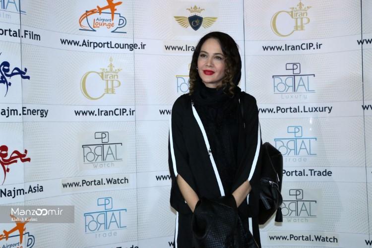 نگین صدقگویا در اکران افتتاحیه فیلم سینمایی جاودانگی
