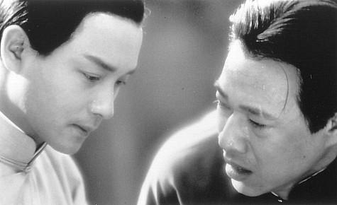 Leslie Cheung در صحنه فیلم سینمایی وداع محبوبم به همراه Fengyi Zhang