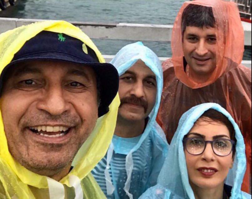حمید فرخ نژاد و رضا عطاران در فیلم سینمایی خانم یایا