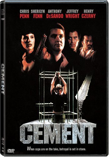 Anthony DeSando در صحنه فیلم سینمایی Cement به همراه جفری رایت، کریس پن، Henry Czerny و Sherilyn Fenn