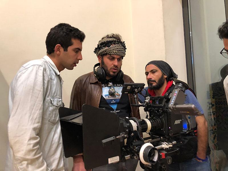 محمدحسین مهدویان در پشت صحنه فیلم سینمایی لاتاری