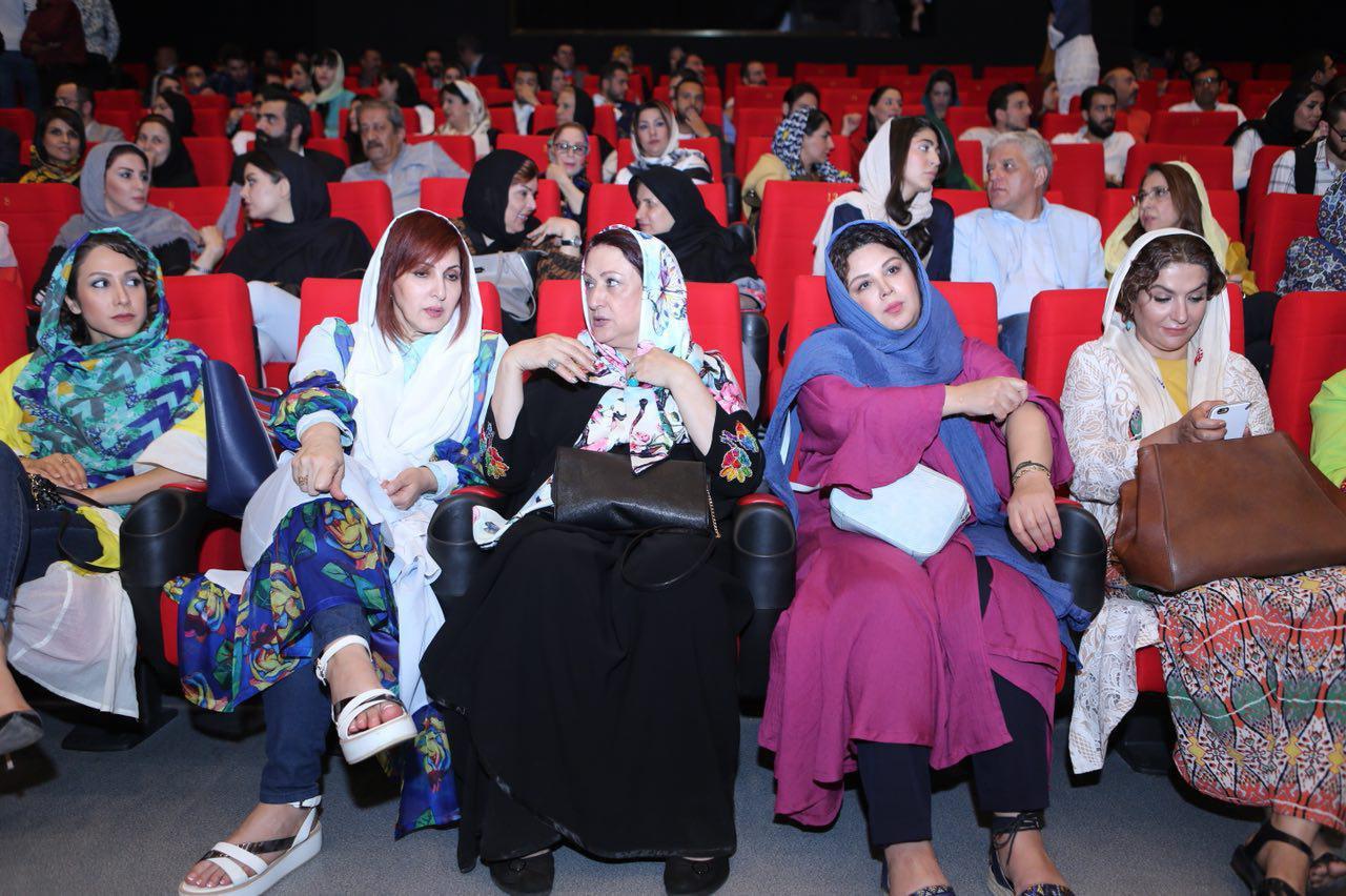 مریم امیرجلالی در اکران افتتاحیه فیلم سینمایی شماره 17 سهیلا به همراه شهره سلطانی و فاطمه گودرزی