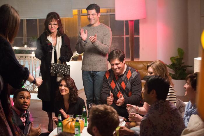 سالی فیلد در صحنه فیلم سینمایی سلام، اسم من دوریسه به همراه ماکس گرینفیلد